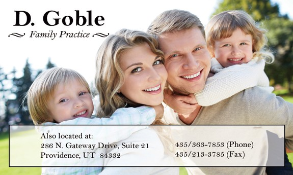 D. GOBLE FAMILY PRACTICE