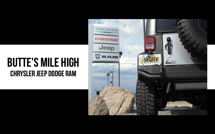 BUTTE'S MILE HIGH CHRYSLER JEEP DODGE & KIA