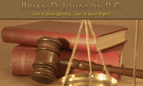 BRIAN D. JOHNSON EXPRESS LAW