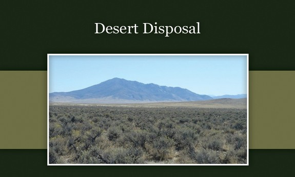 DESERT DISPOSAL