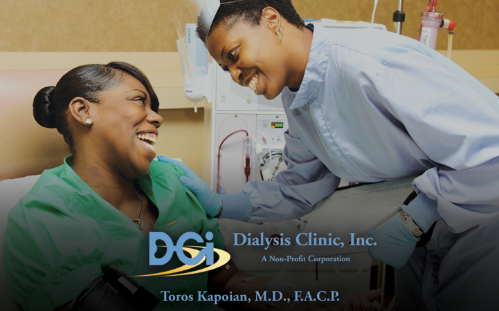 DIALYSIS CLINIC, INC - TOROS KAPOIAN, MD