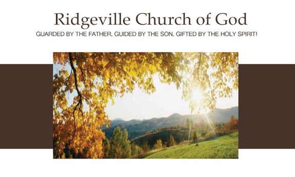 RIDGEVILLE CHURCH OF GOD