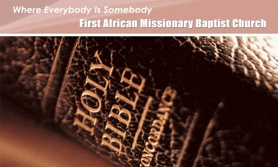 FIRST AFRICAN MISSIONARY BAPTIST CHURCH