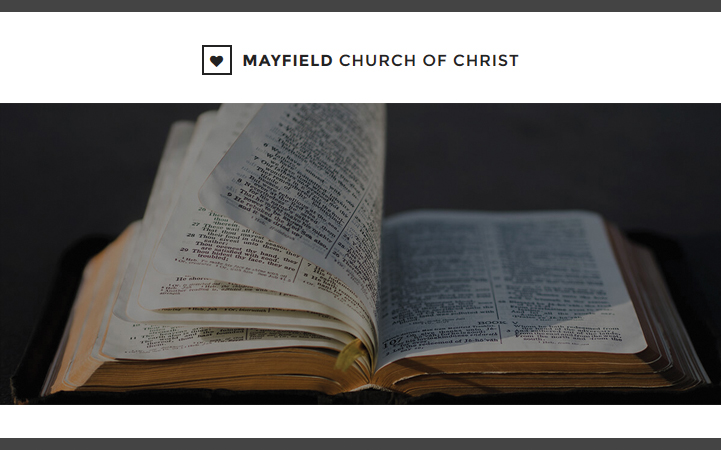 MAYFIELD CHURCH OF CHRIST