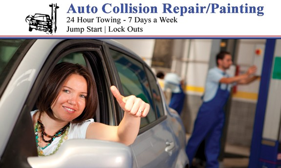 AUTO COLLISION REPAIR / PAINTING & 24 HOUR TOWING