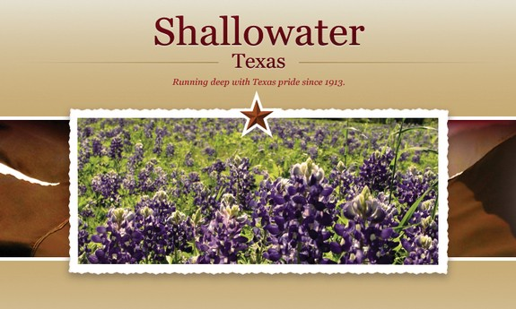 CITY OF SHALLOWATER