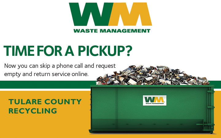 TULARE COUNTY RECYCLING - WASTE MANAGEMENT