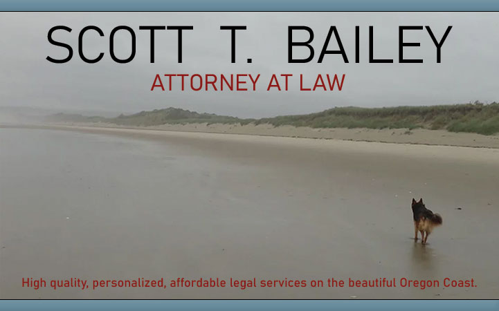 SCOTT T. BAILEY, ATTORNEY AT LAW