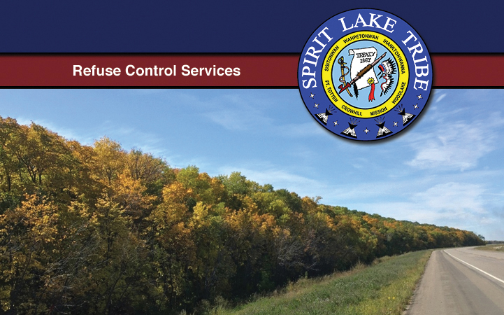 SPIRIT LAKE REFUSE CONTROL SERVICE - Local GARBAGE COLLECTION in Fort Totten, ND