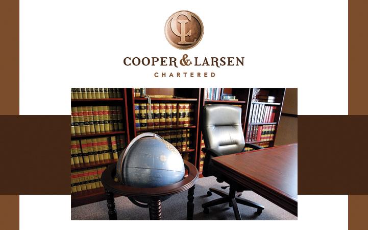 COOPER & LARSEN, CHARTERED