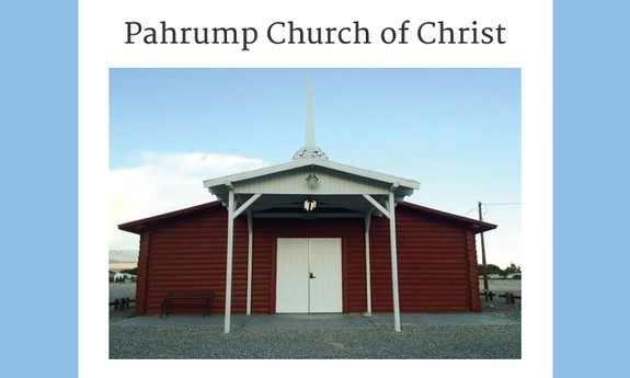 PAHRUMP CHURCH OF CHRIST