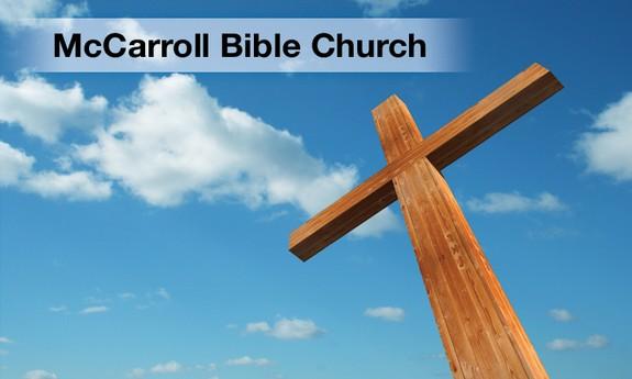 MC CARROLL BIBLE CHURCH