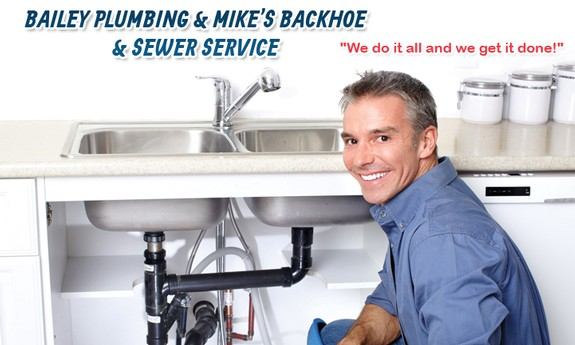 BAILEY PLUMBING AND MIKES BACKHOE & SEWER SERVICE