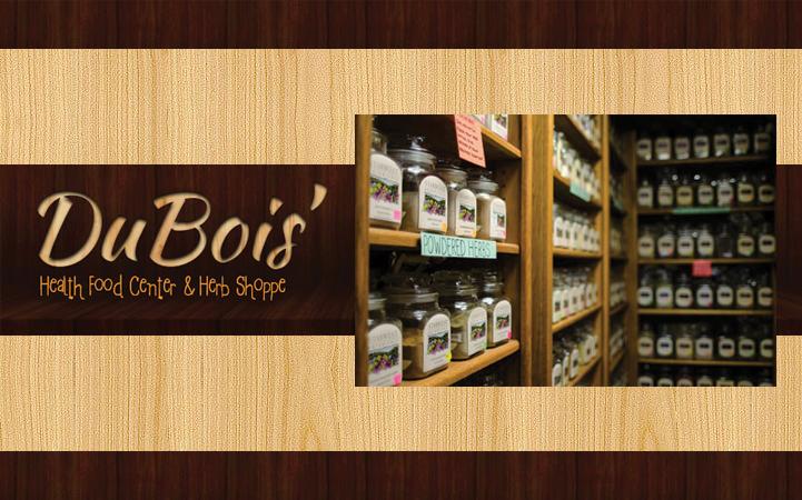 DU BOIS' HEALTH FOOD CENTER & HERB SHOPPE