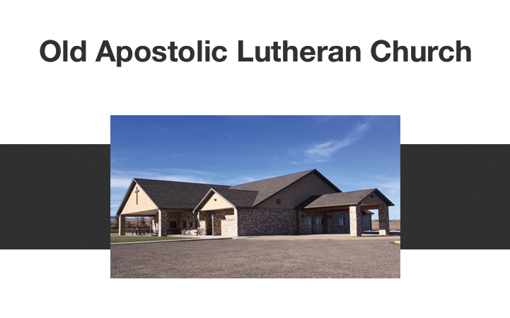OLD APOSTOLIC LUTHERAN CHURCH