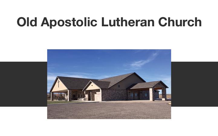 OLD APOSTOLIC LUTHERAN CHURCH