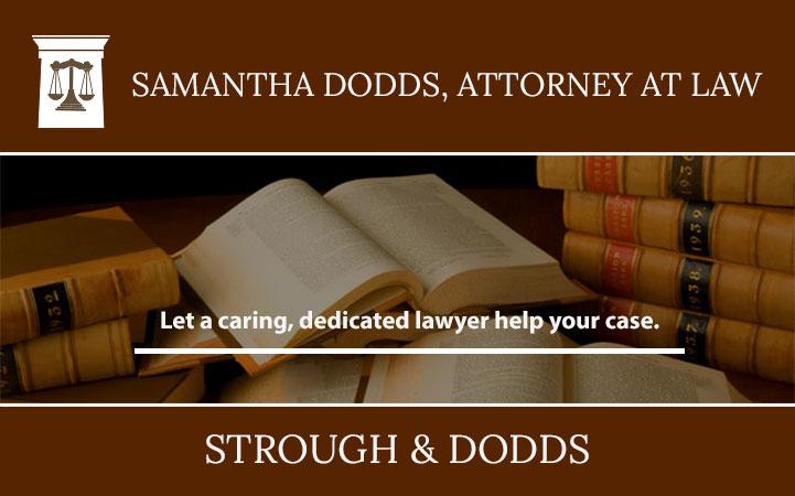 SAMANTHA DODDS, ATTORNEY AT LAW