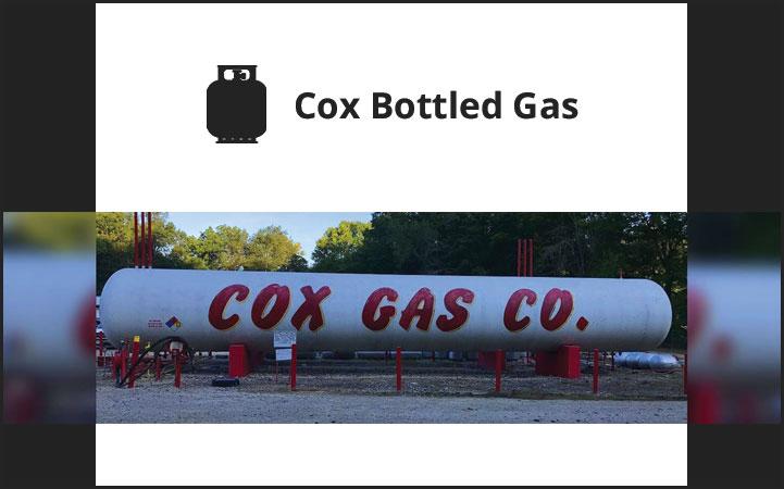 COX BOTTLED GAS