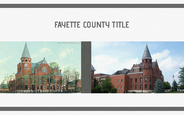 FAYETTE COUNTY TITLE