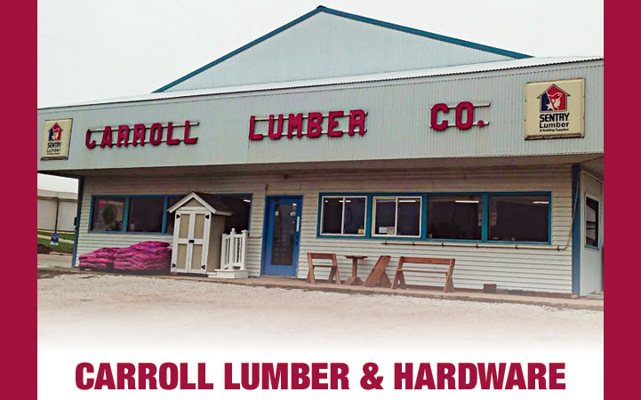 CARROLL LUMBER & HARDWARE