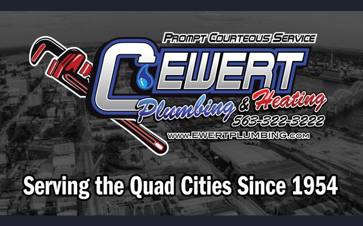 C. EWERT PLUMBING - Local PLUMBING CONTRACTORS in Davenport, IA