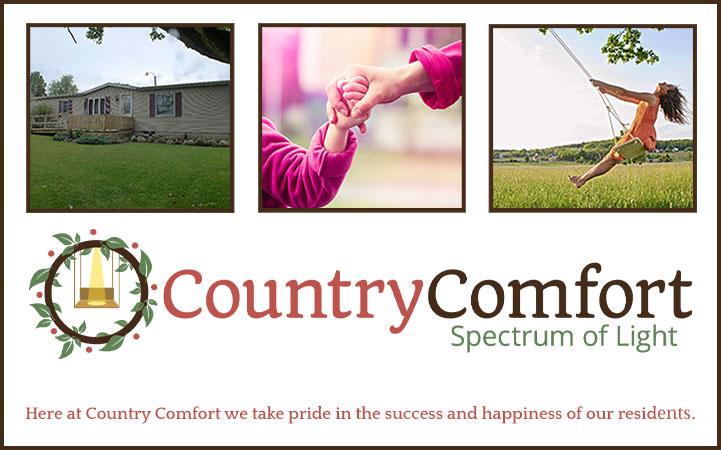 COUNTRY COMFORT SPECTRUM OF LIGHT