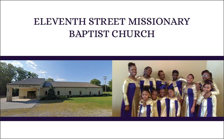 ELEVENTH STREET MISSIONARY