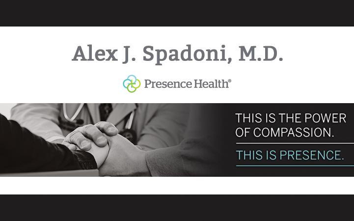 ALEX J. SPADONI, MD