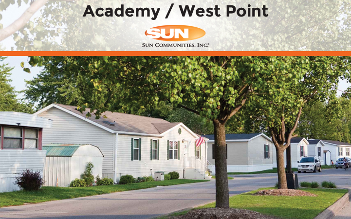 ACADEMY WEST POINT MOBILE HOME COMMUNITY