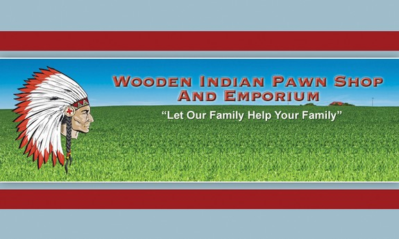 WOODEN INDIAN PAWN SHOP AND EMPORIUM