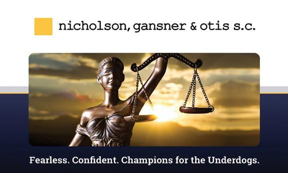 NICHOLSON, GANSNER AND OTIS, S.C.
