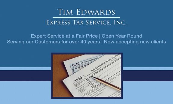 TIM EDWARDS EXPRESS TAX SERVICE, INC.
