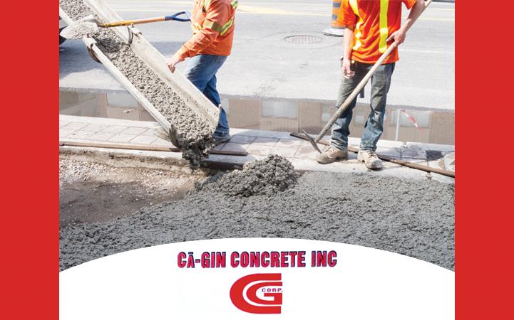 CA-GIN CONCRETE INC.