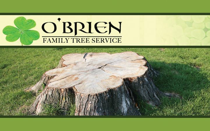 O'BRIEN FAMILY TREE SERVICE