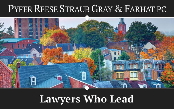 PYFER, REESE, STRAUB, GRAY & FARHAT, PC