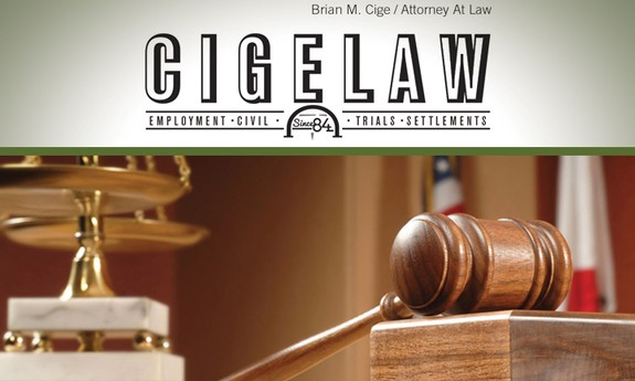 BRIAN M. CIGE LAW OFFICES