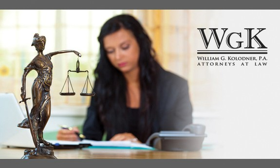 WILLIAM G. KOLODNER LAW OFFICES