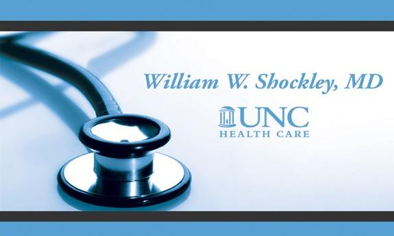 WILLIAM W. SHOCKLEY, MD