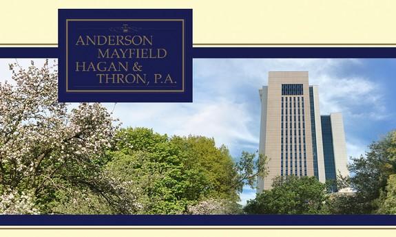 ANDERSON, MAYFIELD, HAGAN & THRON, P.A.