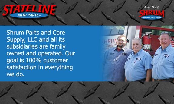 STATE LINE AUTO PARTS, LLC