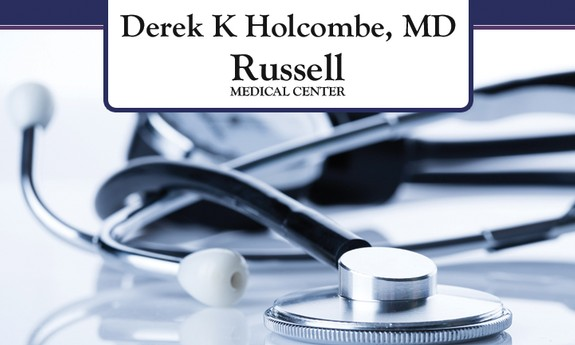 DEREK K. HOLCOMBE, MD - RUSSELL MEDICAL CENTER