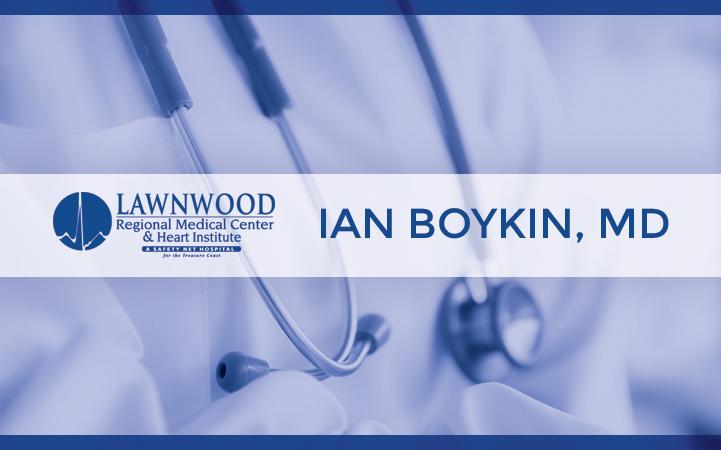IAN BOYKIN, MD
