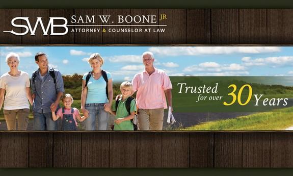 SAM W. BOONE JR PA