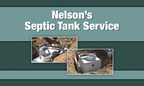 NELSON'S SEPTIC TANK SERVICE