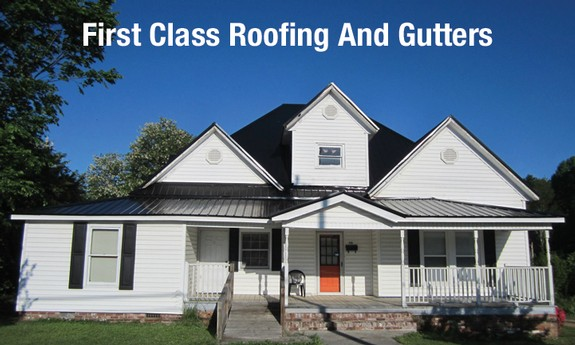 FIRST CLASS ROOFING AND GUTTERS - Local SIDING CONTRACTORS in Mooresville, NC