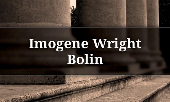 IMOGENE BOLIN LAW OFFICE