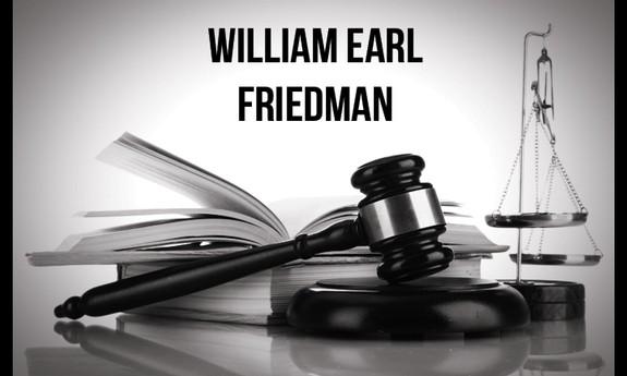 WILLIAM EARL FRIEDMAN