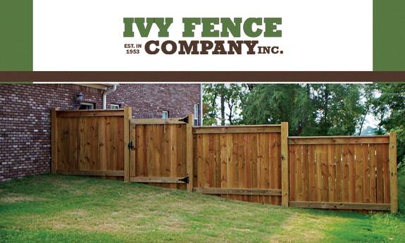IVY FENCE COMPANY INC.