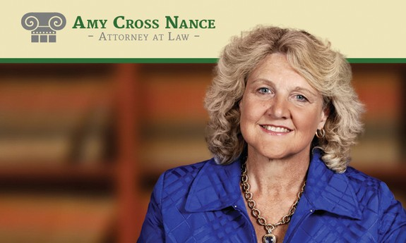 AMY CROSS NANCE - ATTORNEY AT LAW