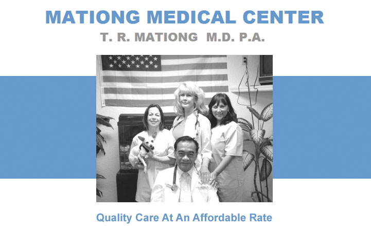 TEODULO R. MATIONG, PA - Local PHYSICIANS SURGEONS in Hudson, FL